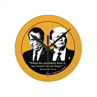 Relógio Redondo Presidente nao ilegal
