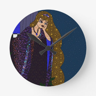 Relógio Redondo Princesa da torre