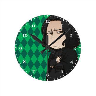 Relógio Redondo Professor Snape do Anime
