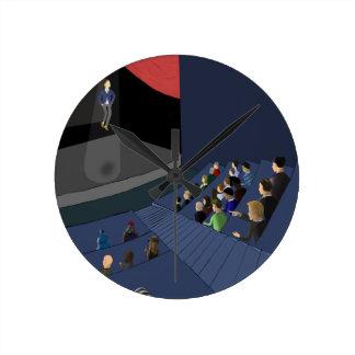 Relógio Redondo Projeto 2035