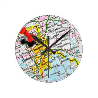 Relógio Redondo Providência, Rhode - ilha