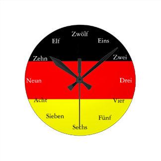 Relógio Redondo Pulso de disparo alemão
