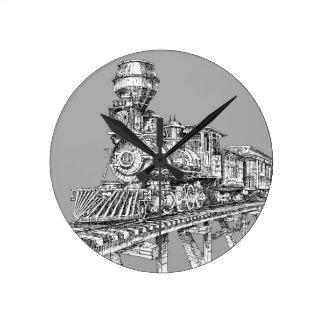 Relógio Redondo Pulso de disparo: Baldwin 1880