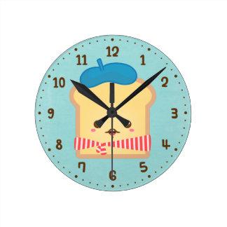 Relógio Redondo Pulso de disparo bonito da decoração da sala do