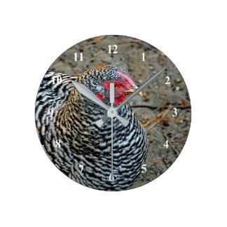 Relógio Redondo Pulso de disparo da galinha 332