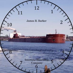 29f8a2807da Relógio Redondo Pulso de disparo de James R. Ladrador
