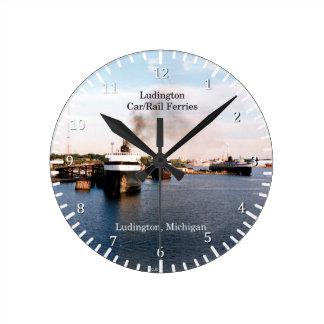 Relógio Redondo Pulso de disparo de Ludington Carferries