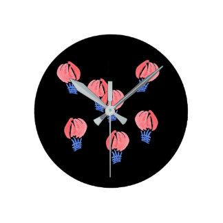 Relógio Redondo Pulso de disparo de parede redondo médio dos