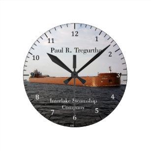 6fff1e27ed5 Relógio Redondo Pulso de disparo de Paul R. Tregurtha