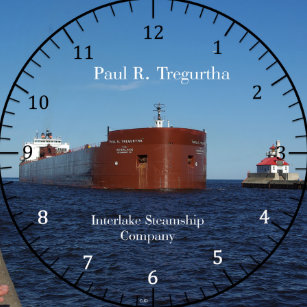 74c29192bae Relógio Redondo Pulso de disparo de Paul R. Tregurtha Duluth