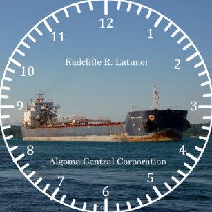 4a8bf068b19 Relógio Redondo Pulso de disparo de Radcliffe R. Latimer