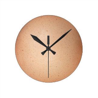 Relógio Redondo Pulso de disparo do escudo de ovo