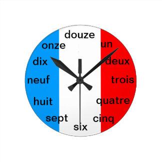 Relógio Redondo Pulso de disparo francês