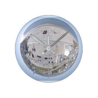 Relógio Redondo Pulso de disparo minúsculo do planeta do NC da
