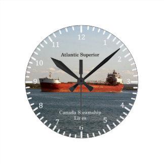 Relógio Redondo Pulso de disparo superior atlântico