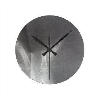 Relógio Redondo Raio X