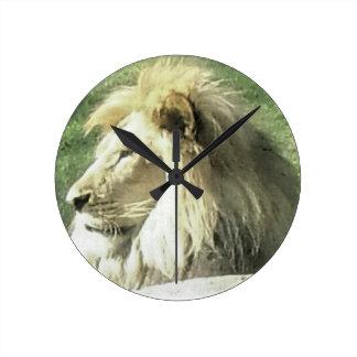 Relógio Redondo Rei de animais