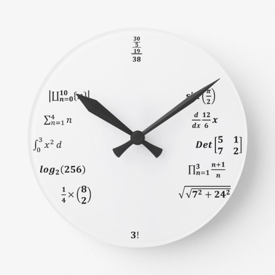 Relógio Redondo Relogio Calculos Engenharia
