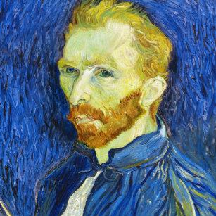 3524a7c53f0 Relógio Redondo Retrato de auto com Pallette Vincent van Gogh