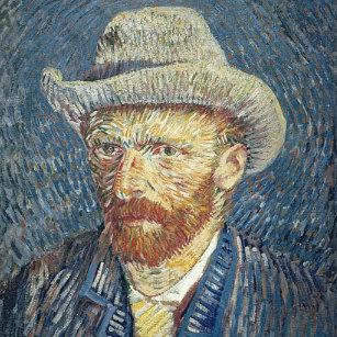 6be7ca68168 Relógio Redondo Retrato de auto de Vincent van Gogh