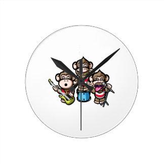 Relógio Redondo Rocha dos macacos