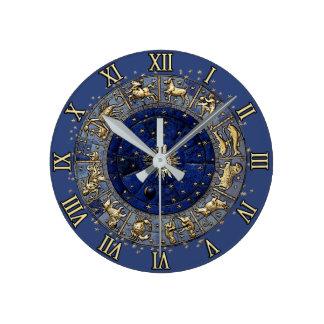 Relógio Redondo Roda do zodíaco