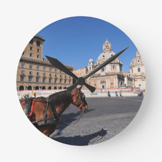 Relógio Redondo Roma, Italia