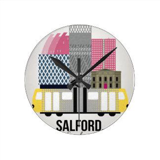 Relógio Redondo Salford