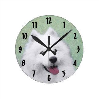 Relógio Redondo Samoyed 2