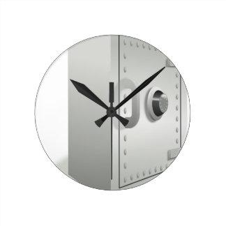Relógio Redondo Seguro