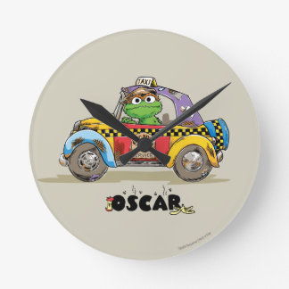 Relógio Redondo Serviço do táxi de Oscar do vintage