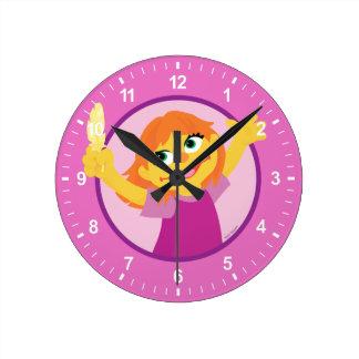 Relógio Redondo Sesame Street | Julia que guardara a pena