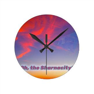 Relógio Redondo Sharnacity
