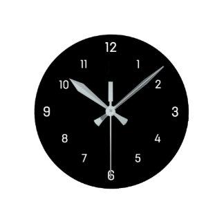 Relógio Redondo Simplesmente o quadrado disca o pulso de disparo