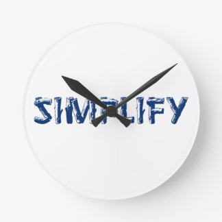 Relógio Redondo Simplifique