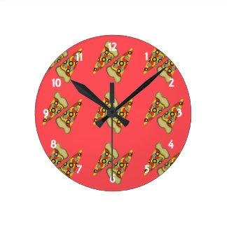 Relógio Redondo Sonho da pizza
