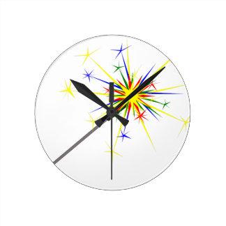 Relógio Redondo Sparkler
