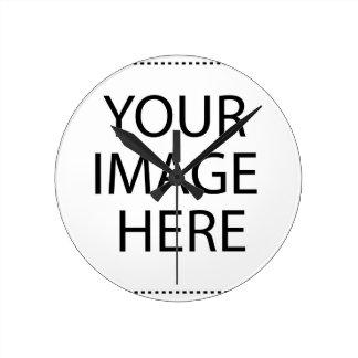 Relógio Redondo Sua imagem aqui