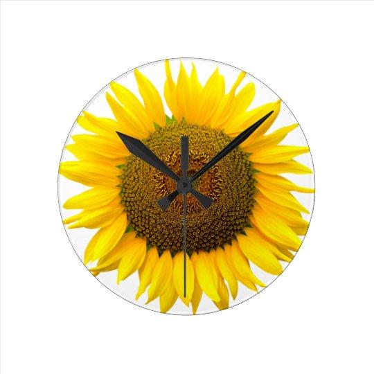 Relógio Redondo Sunflower