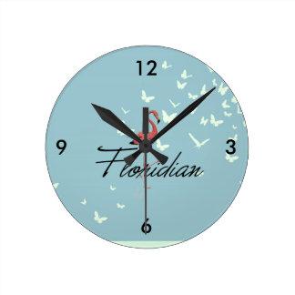 Relógio Redondo T Floridian