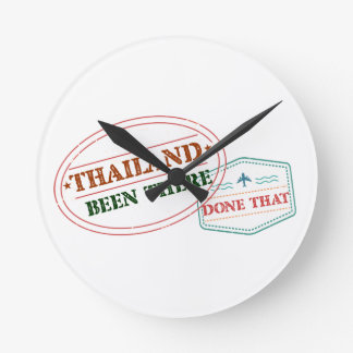 Relógio Redondo Tailândia feito lá isso