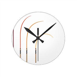 Relógio Redondo Tecnologia curvada do clipart da ilustração do