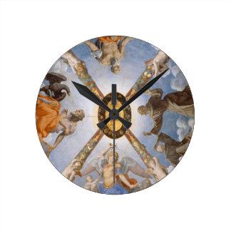 Relógio Redondo Teto italiano da capela da arte de Bronzino