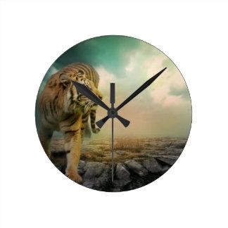 Relógio Redondo Tigre grande