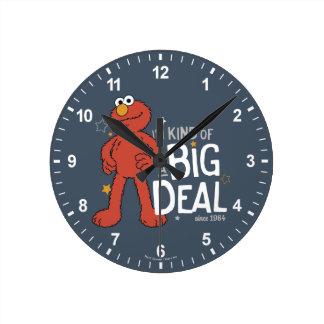 Relógio Redondo Tipo de Elmo | I'm de uma grande coisa