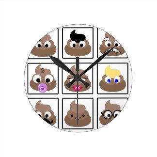 Relógio Redondo Tombadilho muitas caras