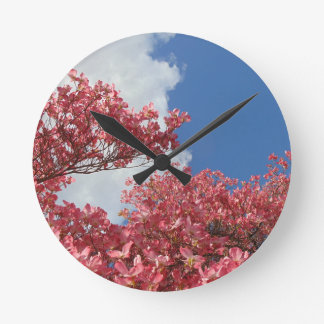 Relógio Redondo Torrente das flores