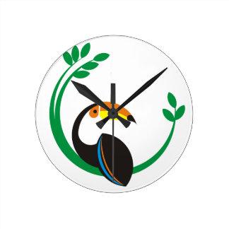 Relógio Redondo Toucan