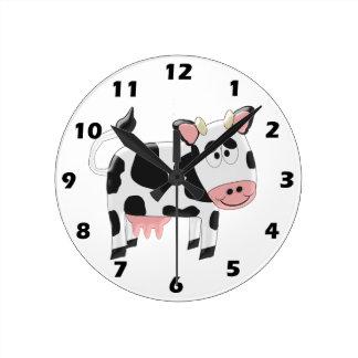 Relógio Redondo Vaca