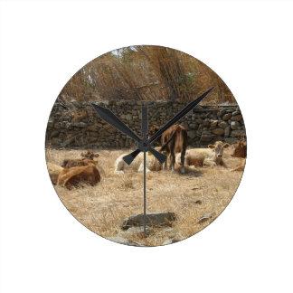Relógio Redondo Vacas